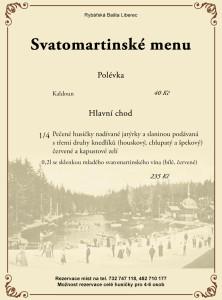 Svatomartinské menu od středy 11.11. do neděle 15.11.