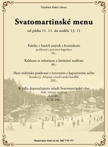Svatomartinske menu 2016
