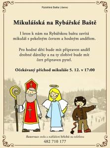 Mikulášská na Baště 5.12.2016